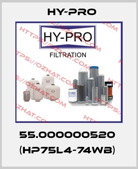 HY-PRO-55.000000520  (HP75L4-74WB)  price