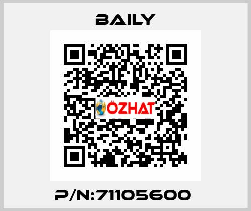 Baily-P/N:71105600  price
