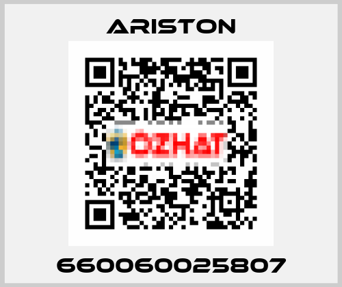 ARISTON-660060025807 price