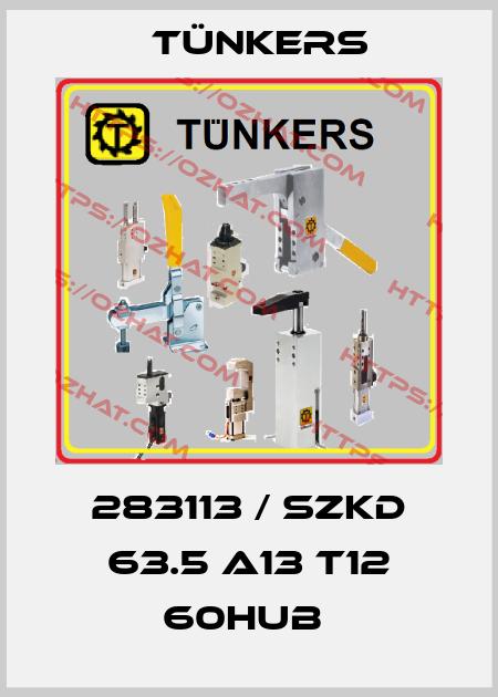 Tünkers-283113 / SZKD 63.5 A13 T12 60Hub  price